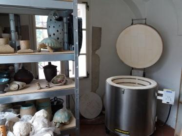 Our electric kiln