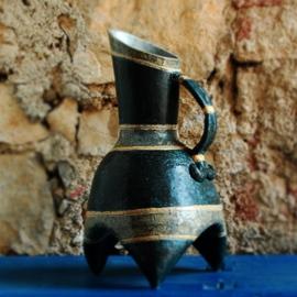 Stoneware handmade jug