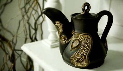 Butterfly teapot, 2012