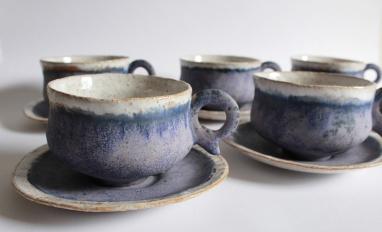 Lavender mugs, 2013