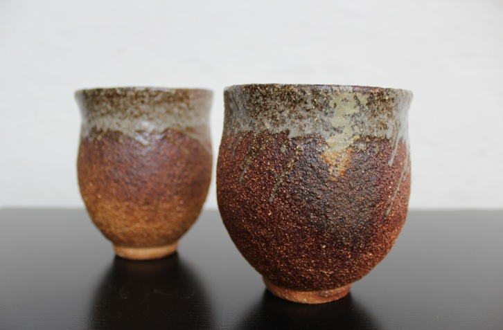 Woodfired tea bowls, 2015