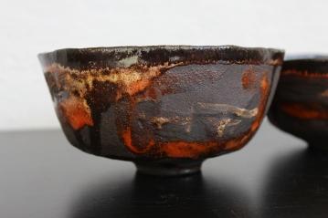 Orangino tea bowl/chawan, 2015