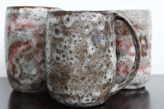 Moon craters mugs, 2016