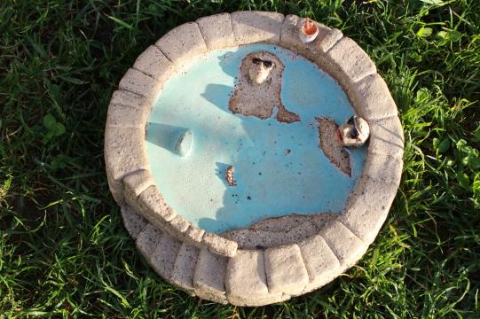 Jacuzzi ashtray, custom made, 2016