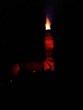 Night fire!