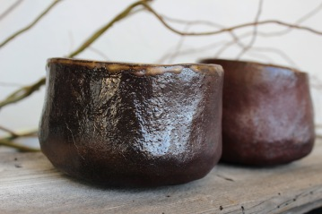 Copper age tea bowls, 2017
