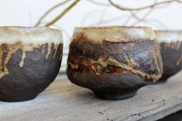 Black roots mugs, 2017