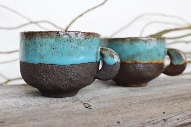 Moon Quarter coofee mugs, big size, 2018