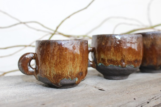 Moon Quarter coofee mugs, different sizes, 2018