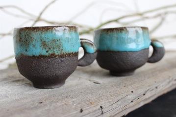 Moon Quarter coofee mugs, espresso size (small), 2018