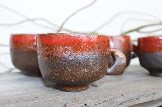 Moon Quarter coofee mugs, medium size, 2018
