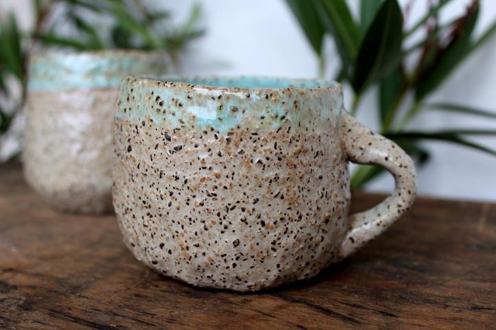 Lagoon turquize mug