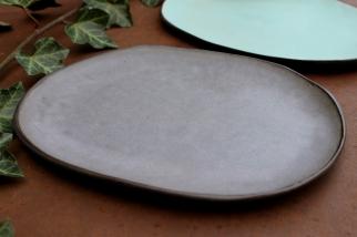 Lavander violet plate