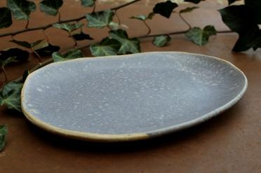 Smokey violet plate