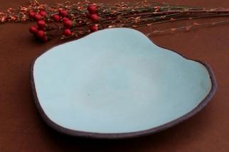 Lagoon turquize plate